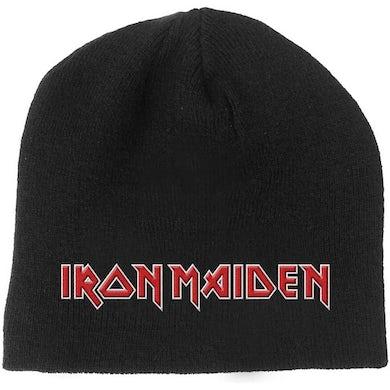 Iron Maiden Beanie Hat - Logo