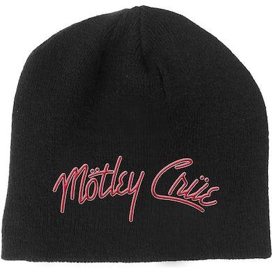 Mötley Crüe Beanie Hat - Logo