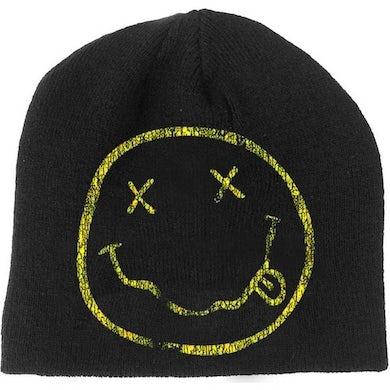 Nirvana Beanie Hat - Smile