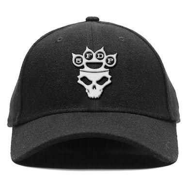 Five Finger Death Punch Baseball Cap - Silver Logo