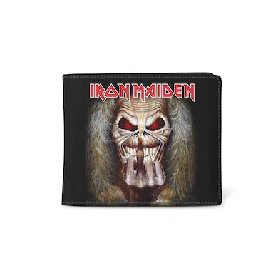 Iron Maiden Wallet - Middle Finger - (PRE-ORDER)