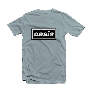Oasis Blue T Shirt - Decca Logo