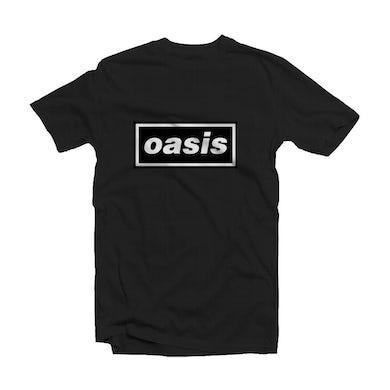 Oasis Black T Shirt - Decca Logo