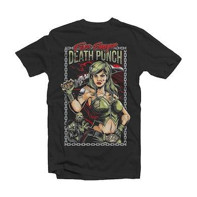Five Finger Death Punch T Shirt - Assassin