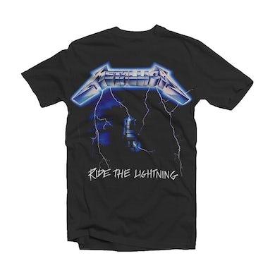 Metallica T Shirt - Ride The Lightning Tracks