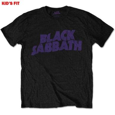 Black Sabbath Kids Youth T Shirt - Wavy