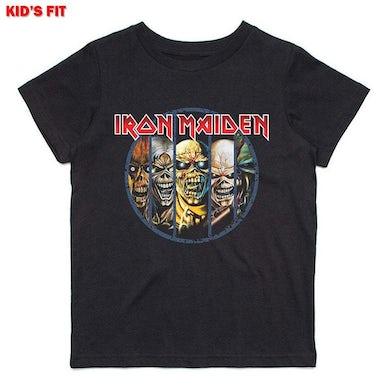 Iron Maiden Kids Youth T Shirt - Evolution