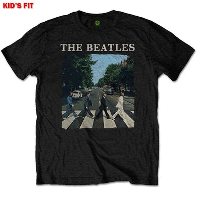 The Beatles Kids Youth  T Shirt - Abbey Road