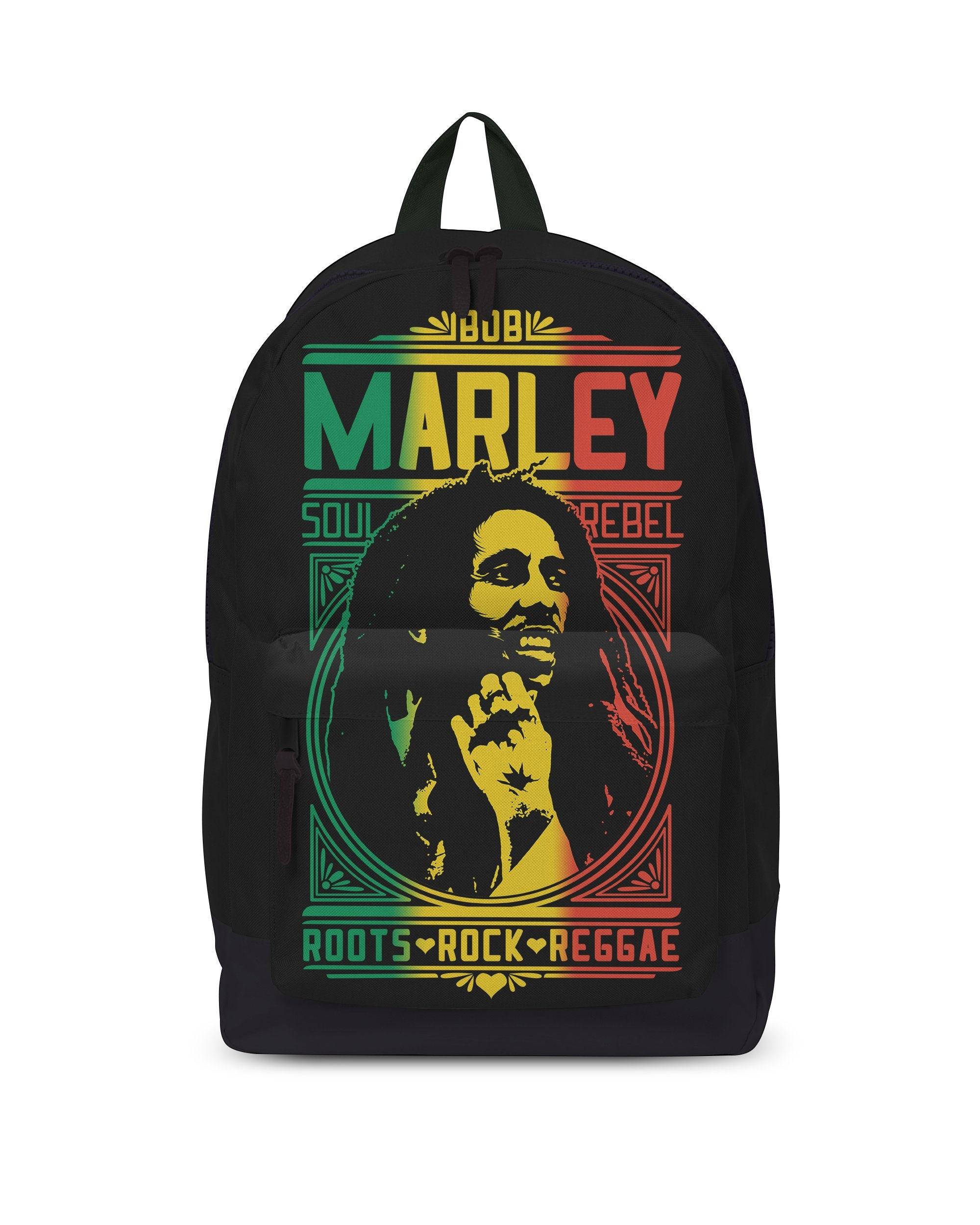 Rock Sax Bob Marley Roots Rock Backpack