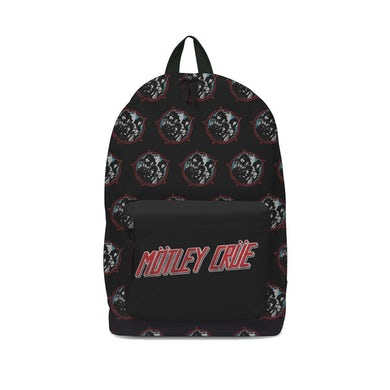 Rocksax Motley Crue Backpack - Heavy Metal Power
