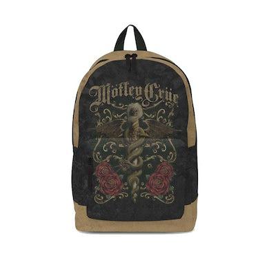 Rocksax Motley Crue Backpack - Roses