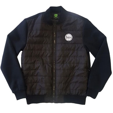 The Beatles Quilted Jacket - Drum Logo
