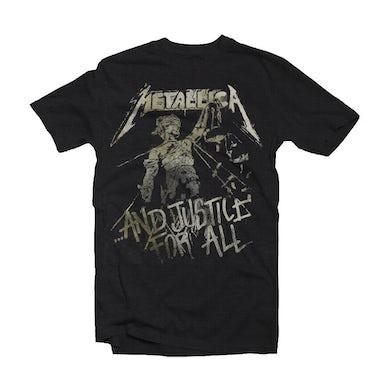 Metallica T Shirt - Justice Vintage