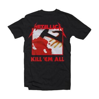 Metallica T Shirt - Kill 'Em All with Back Print