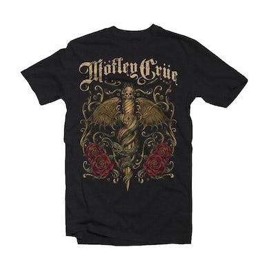 Mötley Crüe T Shirt - Exquisite Dagger