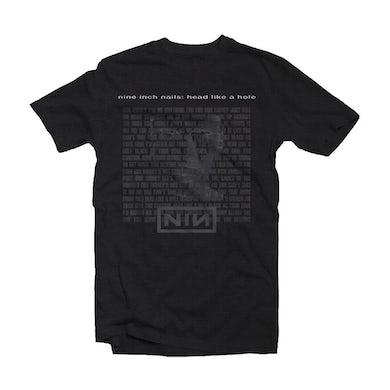 Nine Inch Nails T Shirt - Head Like A Hole