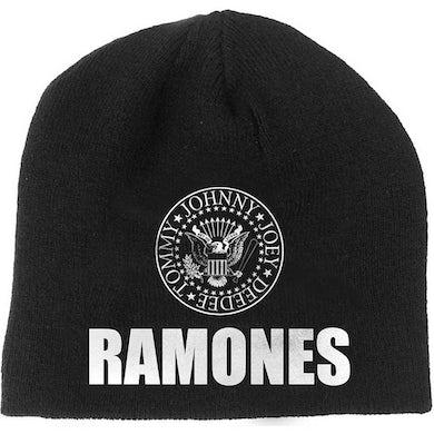 Ramones Beanie Hat - Classic Seal