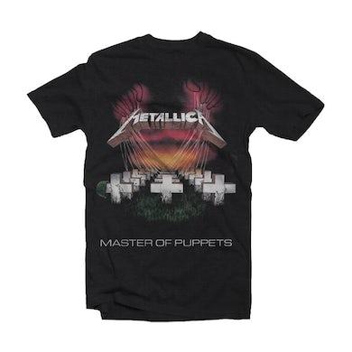 Metallica T Shirt - Master Of Puppets European Tour '86