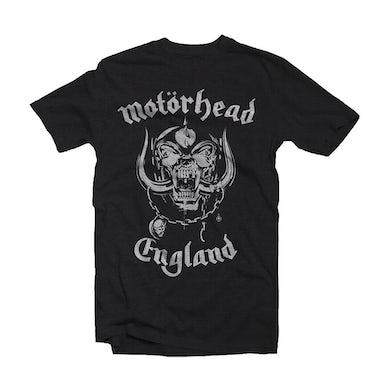 Motorhead T Shirt - England