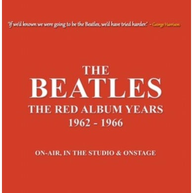 The Beatles LP - The Red Album Years 1962-1966 (Red Vinyl)