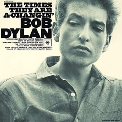 Bob Dylan LP - The Times They Are A Changin' (Vinyl)