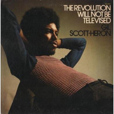 Gil Scott-heron LP - TheRevolutionWillNotBeTelevised (Vinyl)