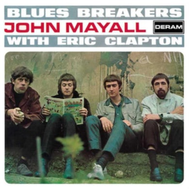 and Eric Clapton LP -  Bluesbreakers (Vinyl)