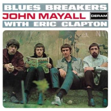 John Mayall and Eric Clapton LP - Bluesbreakers (Vinyl)