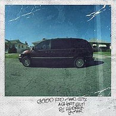 Kendrick Lamar LP - Good Kid Maad City (Vinyl)