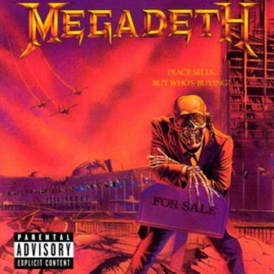 Megadeth LP -  Peace  Sells... But  Who's  Buying? (Vinyl)