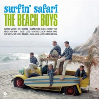 The Beach Boys LP - Surfin' Safari (Vinyl)