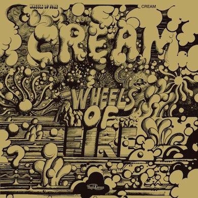 Cream LP - Wheels Of Fire (Golden Jacket)