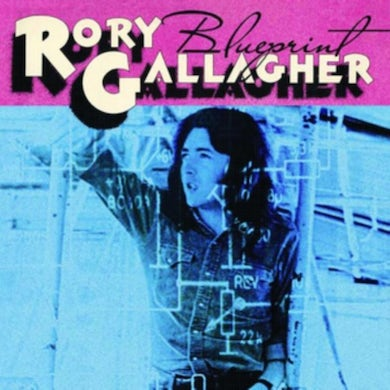 Rory Gallagher LP - Blueprint (Vinyl)