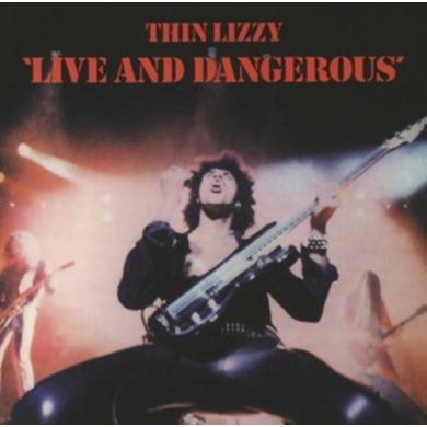 Thin Lizzy LP - Live And Dangerous (Vinyl)
