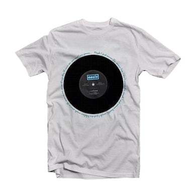 Oasis T Shirt - Live Forever Single