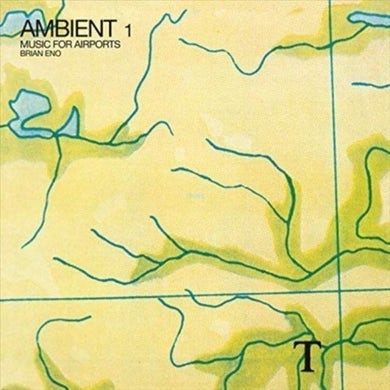 Brian Eno LP - Ambient 1 - Music For Airports (Vinyl)
