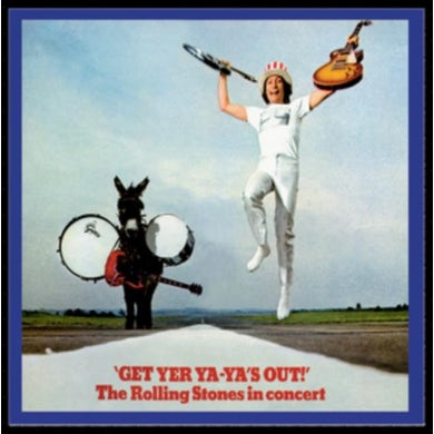 The Rolling Stones LP - Get Yer Ya-Ya's Out (Vinyl)