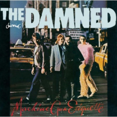 The Damned LP - Machine Gun Ettiquette (Vinyl)