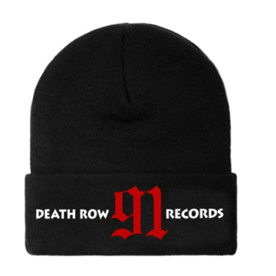 Death Row Beanie Hat - 91 Records