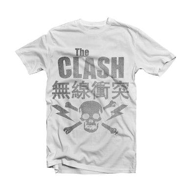 The Clash T Shirt - Skull & Crossbones