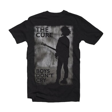 The Cure T Shirt - Boys Don't Cry Black & White