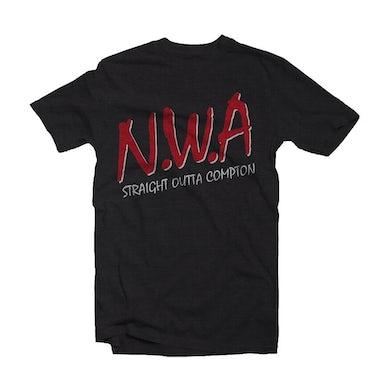 N.W.A.  T Shirt - Straight Outta Compton