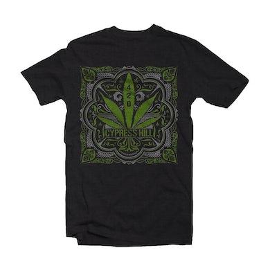 Cypress Hill T Shirt - 420 Leaf