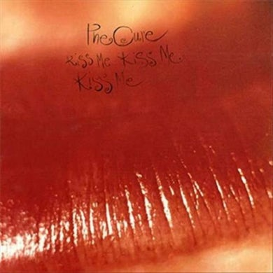The Cure LP - Kiss Me, Kiss Me, Kiss Me (Vinyl)
