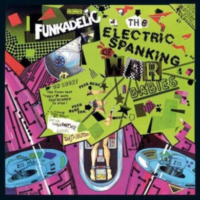 LP - The Electric Spanking Of Water Babies (Vinyl)