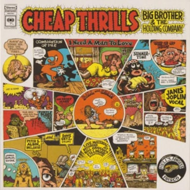 Janis Joplin / Big Brother And The Holding Company LP - Cheap Thrills (Vinyl)