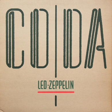 Led Zeppelin LP - Coda (Vinyl)
