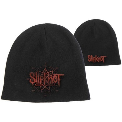 Slipknot Beanie Hat - Logo Cotton