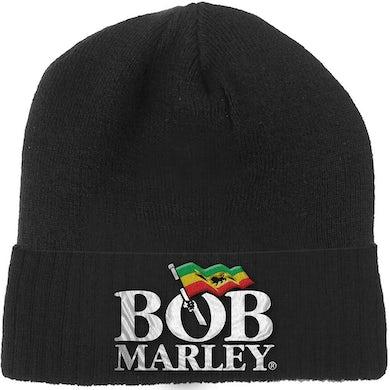 Bob Marley Beanie Hat - Logo
