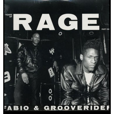 Fabio & Grooverider LP - 30 Years Of Rage Part 1 (Vinyl)